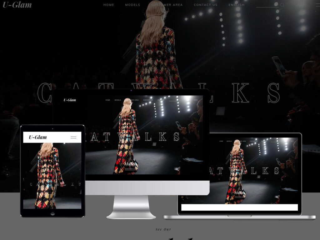 model agency prague website